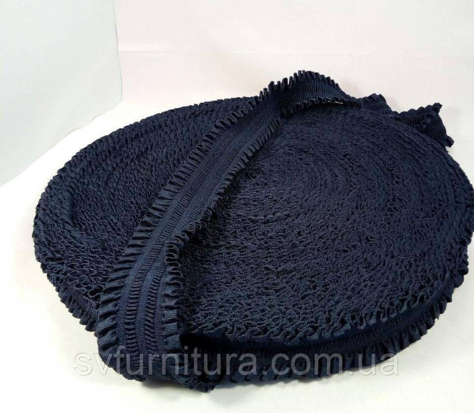 Резинка ажурная 5 см 6# темно-синий