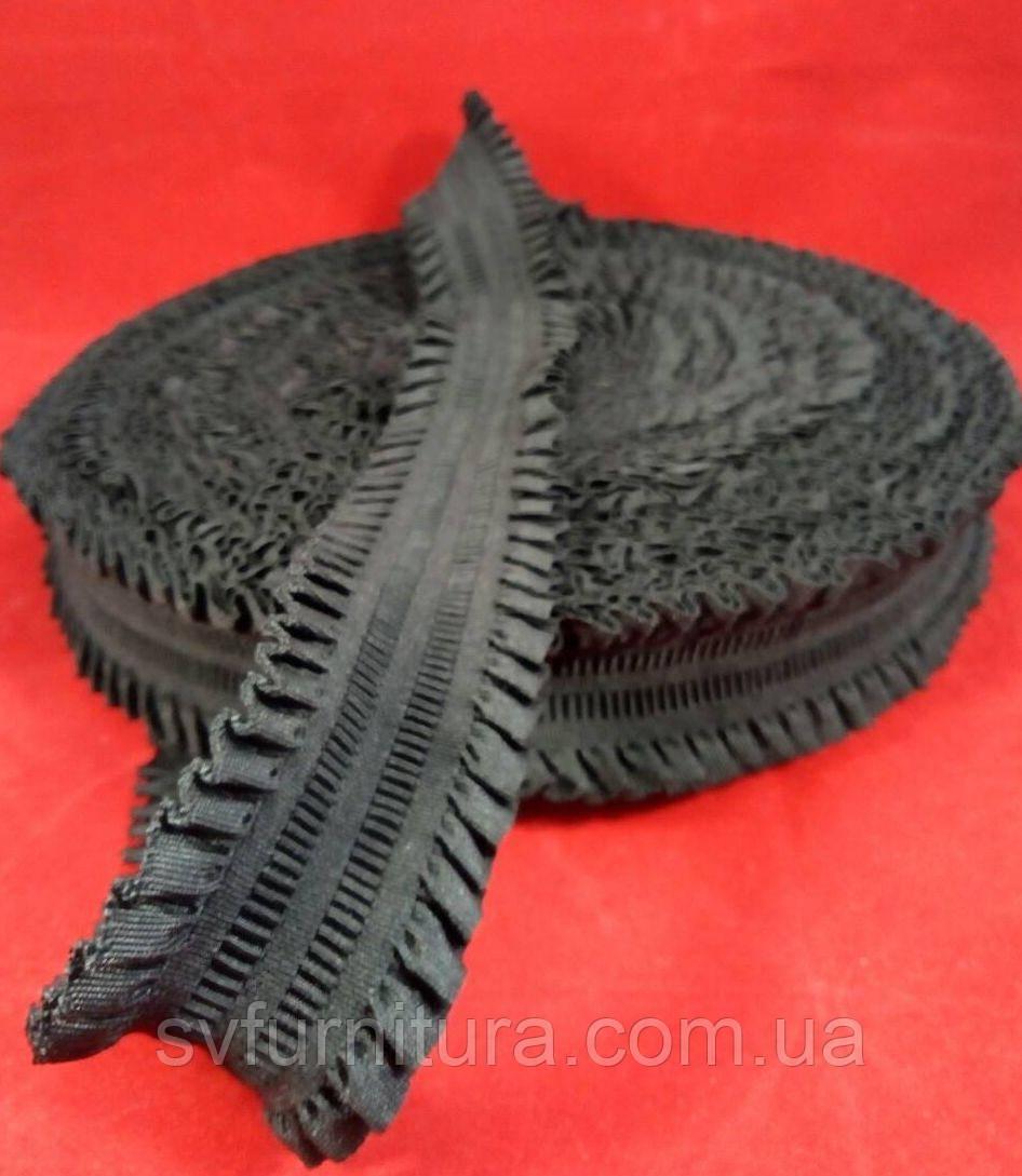 Резинка ажурная 5 см 6# черный