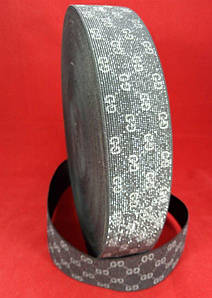 Гумка ажурна 5 см №5 G срібло