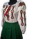 """Вишитий костюм для дівчинки """"Ірен"""" (Вышитой костюм для девочки """"Ирен"""") DU-0018, фото 2"""