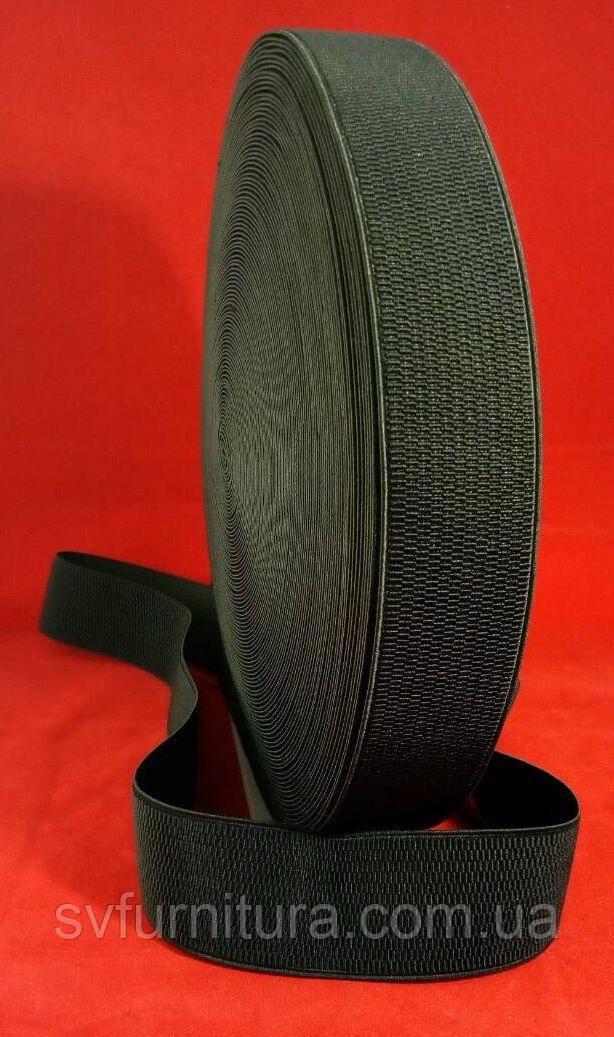 Резинка ажурная 5 см К1 черный