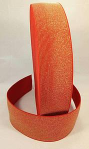 Гумка ажурна 6 см 3 color золото червоний