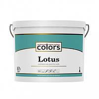 Сolors Lotus латексная краска, устойчивая к стиранию и смыванию А 2,7 л