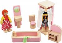 Набор мебели для кукол МДИ Ванная комната (Д274)