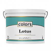 Сolors Lotus латексная краска, устойчивая к стиранию и смыванию А 9 л