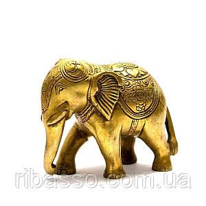 Слон бронза 12х9,5х6 см 25800