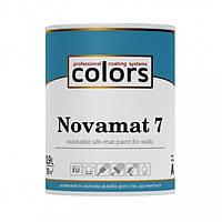 Сolors Novamat 7 0,9 л латексна водоразбавимая миюча фарба для стін