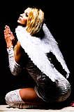 Крылья Ангела перьевые белые большие 52см., фото 2
