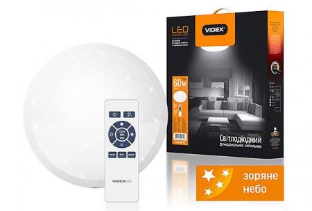 LED светильник функциональный круглый VIDEX VL-CLSRJs-60 white