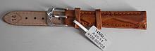 Ремінець шкіряний коричневий 14 мм