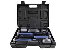 Набор молотков и кувалд для ремонта кузовов и вмятин 7 единиц GEKO G02640
