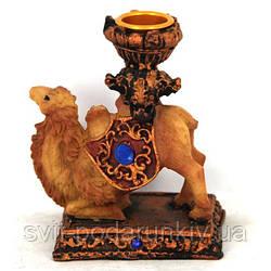 Статуэтка верблюд декоративный подсвечник S4057
