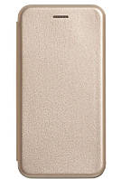 Чехол-книжка Luxo Leather Samsung J8 2018 (Gold)