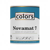 Сolors Novamat 7 латексна водоразбавимая миюча фарба для стін
