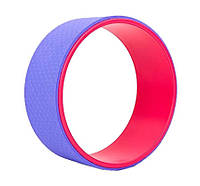 Йога кольцо (колесо) Yoga Wheel BS, 32х13 см, разн. цвета, фото 1