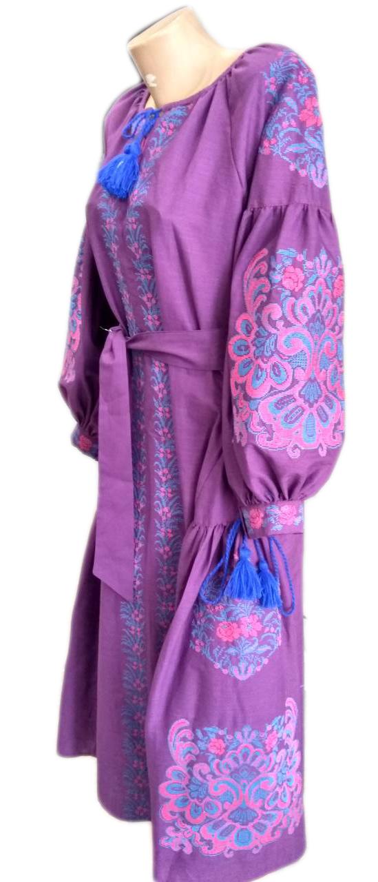 """Жіноче вишите плаття """"Веліс"""" (Женское вышитое платье """"Велис"""") PU-0025"""