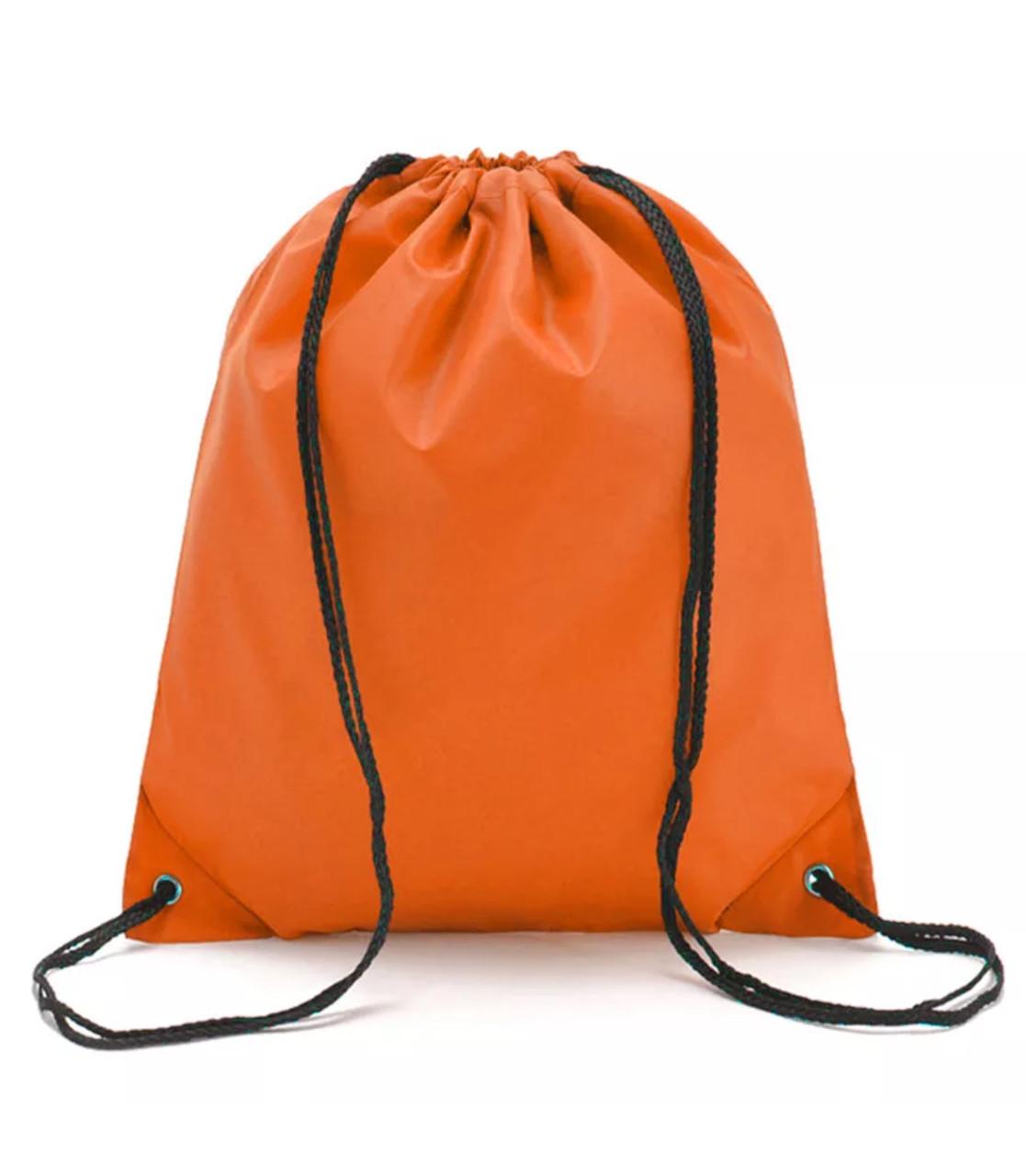 Сумка-мешок/рюкзак для спортивной формы и сменной обуви «4 Сезона» (оранжевый)