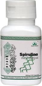 Спирулина плюс Green World, Spirulina натуральная (с женьшень)
