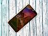 Чехол-книжка Clear view Samsung A6 (2018) Plus (Золотой)