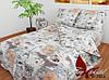 Подростковый полуторный комплект постельного белья Париж