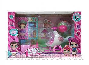 Игровой набор L.O.L.вертолет с куколками Лол  / Лол пикник / аналог  , фото 2