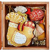 Подарочный набор. Золотой петушок с медом и чаем. К Пасхе