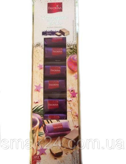 Марципан в шоколаде с ромом ( конфеты)  Marzipan Rum Favorina 125г