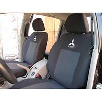 Чехлы на сидения Mitsubishi Outlander XL (2006-2014) (Prestige)