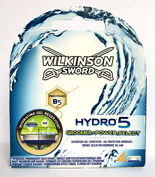 Картриджи для бритья Wilkinson Sword Hydro 5 Groomer Power Select, 4 шт
