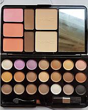 Косметический Набор (Корректор Бровей, Тени, Румяна, Пудра) MAC Travel Pack Cosmetics