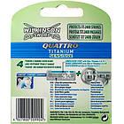 Сменные кассеты Wilkinson Sword Quattro Titanium Sensitive 8 шт W0031, фото 2