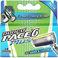 Картридж DORCO PACE 6 Plus (SXA 5040), 4 шт D0013