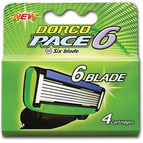Картридж DORCO PACE6 (SXA 1040), 4 шт D0011