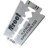 Классические двухсторонние лезвия «Treet® Platinum» 5 шт T0012, фото 3