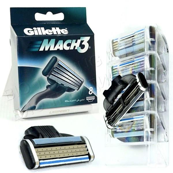 Сменные кассеты Gillette Mach3 Original (8 шт) G0026