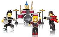 """Набор Роблокс 4 штуки """"Панки-Рокеры"""" Roblox Punk Rockers Mix & Match Set Оригинал из США"""