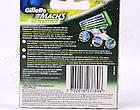 Сменные кассеты Gillette Mach3 Sensitive Original (4 шт) G0029, фото 9
