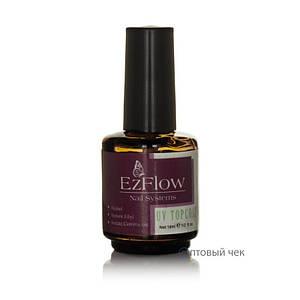 Uv topcoat для гель лака EzFlow 14 мл