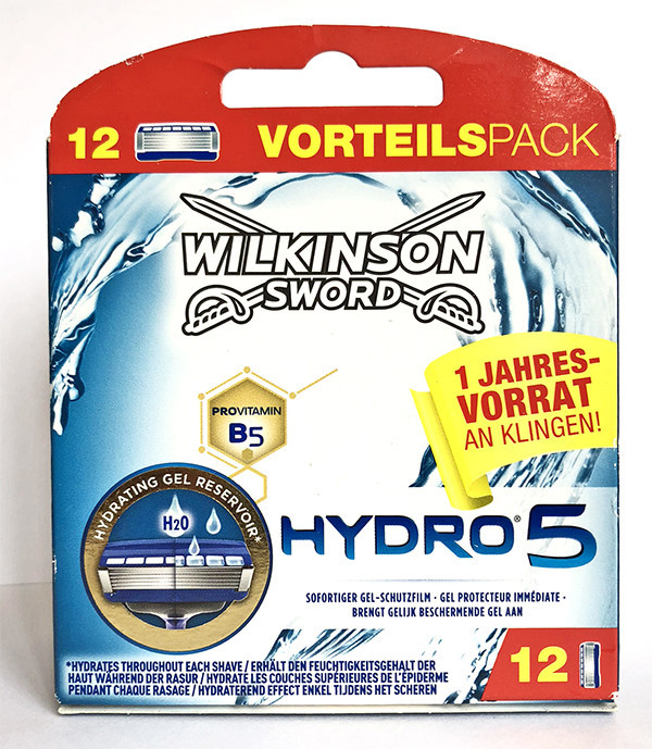 Картриджи для бритья Wilkinson Sword Hydro 5 12 шт. W0104