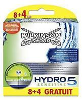 Картриджи для бритья Wilkinson Sword Hydro 5 Sensitive, 8 + 4 шт. W0109