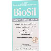 Улучшенный генератор коллагена (30 мл) BioSil by Natural Factors, BioSil