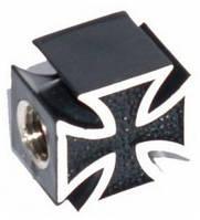 Колпачок для камеры TW V23 в виде черн. креста из пластика.