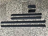Молдинги нижние на Audi 100 A6 (91-97) c4 кузов комплект 8шт. с клипсами 4A0853959 01C