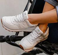 Женские Кроссовки New Balance 1400 Нью Беланс Белые Кожаные — в ... 3de475eb9ff