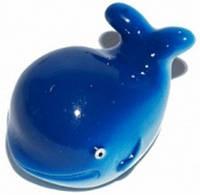Колпачок для камеры TW V-18 в виде кита из пластика. Синего цвета. В комплекте 4 шт. автомобильного стандарта.