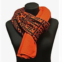 Стильный зимний шарф