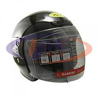 Шлем без челюсти  Volk   706  черный