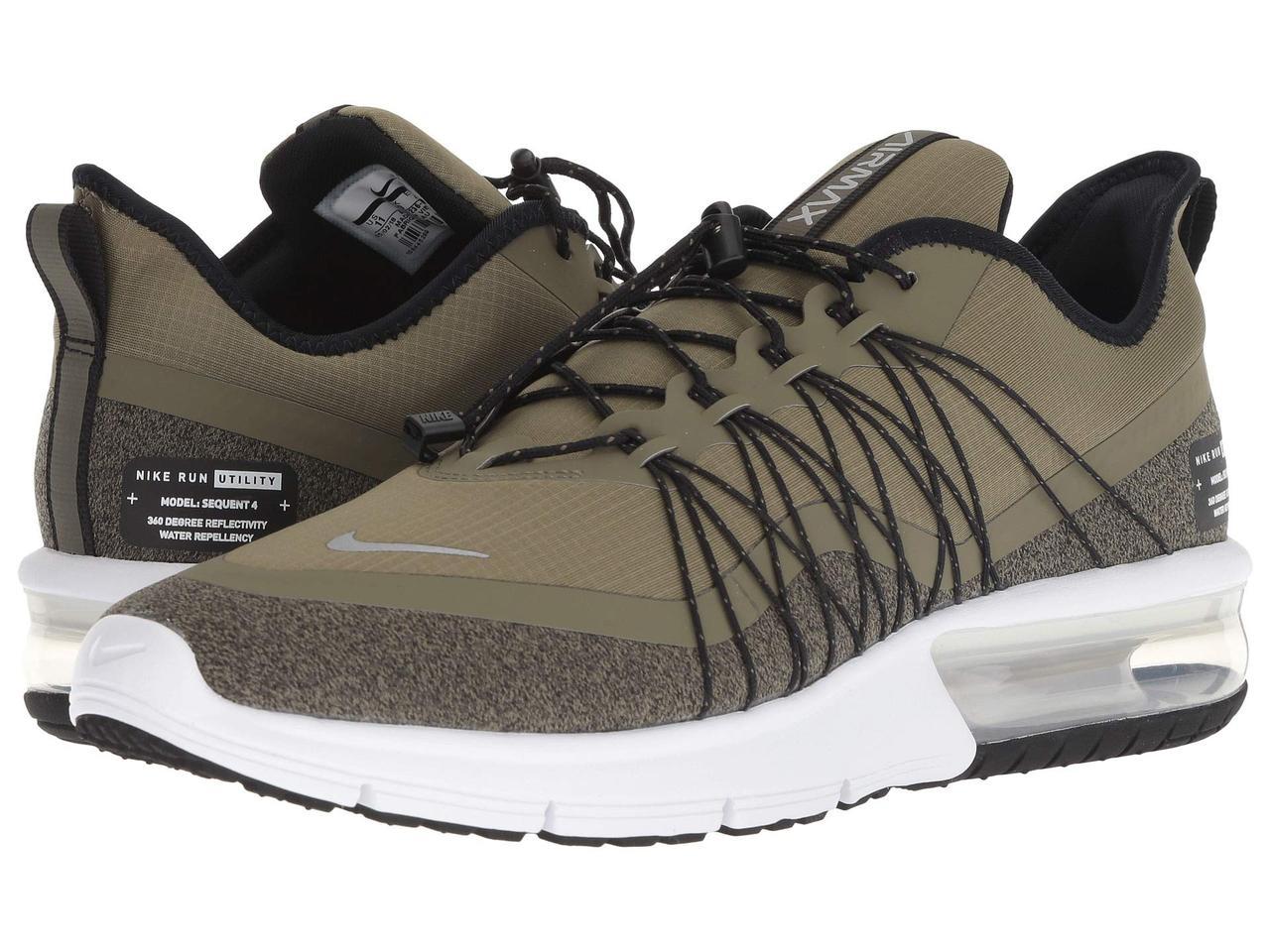 sale retailer b688b 2d334 Кроссовки Кеды (Оригинал) Nike Air Max Sequent 4 Shield Medium  Olive Metallic