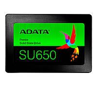 Твердотельный накопитель 120Gb, A-Data Ultimate SU650, SATA3, 2.5', 3D NAND TLC, 520/450 MB/s (ASU65