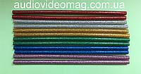 Набор (12 шт) цветных клеевых стержней, диаметр 8 мм, длина 20 см